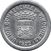 5 Centimes - Union Commerciale - Vimoutiers [61] – avers