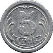 5 Centimes - Union Commerciale - Vimoutiers [61] – revers