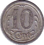 10 centimes - Union Commerciale - Vimoutiers [61] – revers