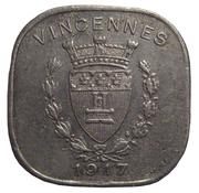 20 centimes - Union Commerciale et Industrielle - Vincennes [94] – avers