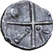 Quinarius (Kreuzquinare Schönaich I Type) – revers