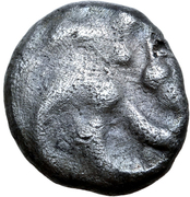 Quinarius (Manching type group C) – avers