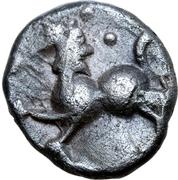 Quinarius (Manching type group C) – revers