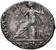 1 siliqua au nom de Honorius Narbonne – revers