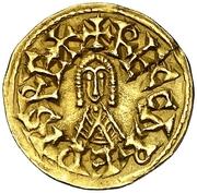 Tremissis - Recaredo I (Eliberri) – avers