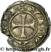 Denier de l'évêché du Viviers - Languedoc – revers