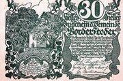 30 Heller (Vorderstoder) -  avers