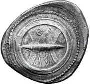 1 didrachm (avec l'inscription) – avers