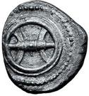 1 didrachm (sans l'inscription) – avers
