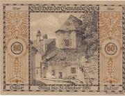 60 Heller (Wachau - Spitz) – revers
