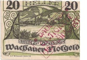 20 Heller (Wachau - Mitter Arnsdorf)) – avers