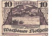 10 Heller (Wachau - Mitter Arnsdorf)) – avers