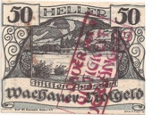 50 Heller (Wachau - Mitter Arnsdorf)) -  avers