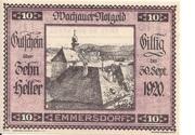 10 Heller (Wachau - Emmersdorf) – avers