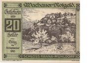 20 Heller (Wachau - Ranna-Mühldorf) – avers
