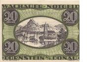 20 Heller (Wachau - Dürnstein) – avers