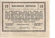 10 Heller (Wachau - Ranna-Mühldorf) – revers