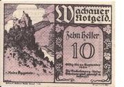 10 Heller (Wachau - Aggstein) -  avers