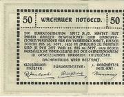 50 Heller 1920 Gutschein -  revers