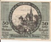 50 Heller (Wachau - Weissenkirchen) – avers