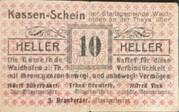 10 Heller (Waidhofen an der Thaya) 1920 – avers