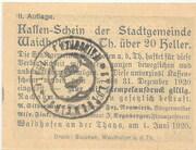 10 Heller (Waidhofen an der Thaya)2 – revers