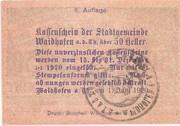 50 Heller (Waidhofen an der Thaya) – revers