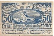 50 Heller (Waidhofen an der Thaya) – avers