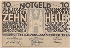 10 Heller (Waidhofen an der Ybbs) -  avers