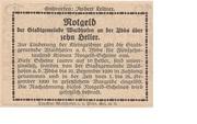 10 Heller (Waidhofen an der Ybbs) -  revers