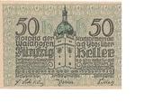 50 Heller (Waidhofen an der Ybbs) -  avers