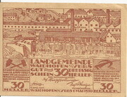 30 Heller (Waidhofen an der Ybbs) – avers
