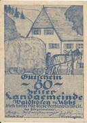 60 Heller (Waidhofen an der Ybbs) – avers
