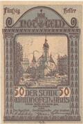 50 Heller (Waidhofen an der Ybbs) – avers
