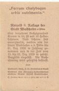 50 Heller (Waidhofen an der Ybbs) – revers