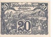 20 Heller (Waizenkirchen) -  avers