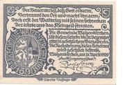 20 Heller (Waizenkirchen) -  revers
