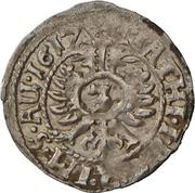 3 Kreuzer - Christian et Wolrad IV. – revers