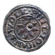 1 dreier Wolrad IV, Philipp VII et  Johann II – avers