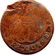 3 pfennig Karl August Friedrich – avers