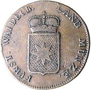 1/2 groschen Friedrich Karl August – avers