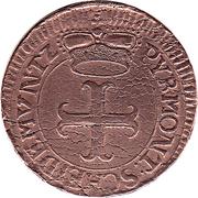 4 Pfennige - Karl August Friedrich – avers