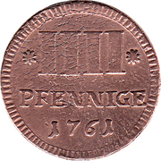 4 Pfennige - Karl August Friedrich – revers