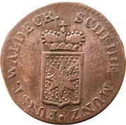 1 Pfennig - Georg Friedrich Heinrich – avers