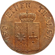 3 Pfennige - Georg Heinrich – avers