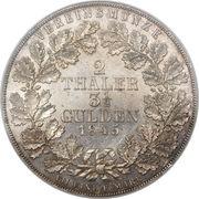 2 Thaler / 3½ Gulden - Georg Heinrich – revers