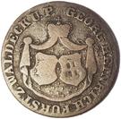 1 groschen Georg Friedrich Heinrich – avers