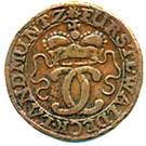 6 Pfennig - Karl August Friedrich – avers