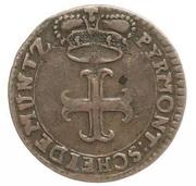 1 pfennig Karl August Friedrich – avers