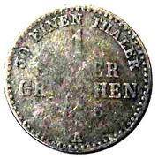 1 Silbergroschen - Georg Heinrich – revers
